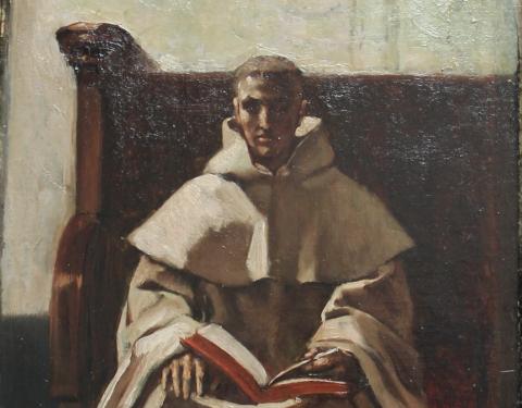 Meunier Trappist monk (detail)